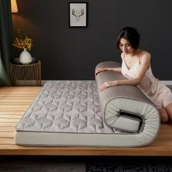 (总)迪乐妮立体乳胶记忆棉床垫立体乳胶3D菱形灰色