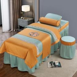 (总)不打烊家纺  (原春恩家纺)2021新款美容床罩四件套洛丽塔系列