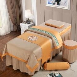 (总)不打烊家纺  (原春恩家纺) 2021新款美容床罩四件套巴黎之恋系列