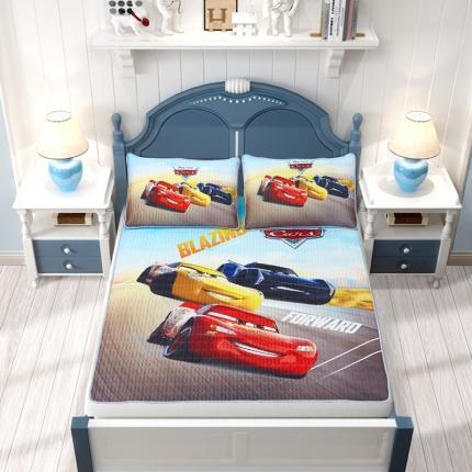 迪士尼2021新款儿童卡通大版数码印花乳胶凉席 0192乳胶席