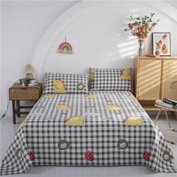 (总2)首爱家纺老粗布床单老粗布凉席三件套二件套(预留缩水)
