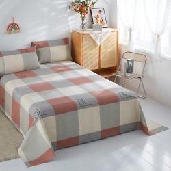 (总1)首爱老粗布床单粗布凉席单品床单 枕套(预留缩水)