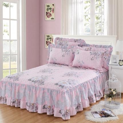 (总)爱妮玖玖 单品床罩类3-2:全棉春天款夹棉床罩