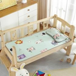 (总)南雅席业 夏凉冰丝儿童席婴儿床凉席幼儿园专用儿童藤席