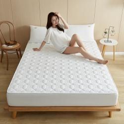 (总)优眠坊 2021新款A类全棉色织水洗棉夹棉床笠