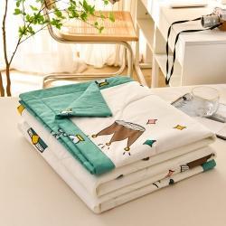 (总)梵蒂莎 2021全棉夏被天然棉花被芯空调夏凉被子里外棉