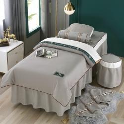 (总)不打烊家纺 2021新款雪芙妮美容床罩--雏菊花语