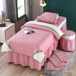 (总)不打烊家纺 2021新款雪芙妮美容床罩-古色古香