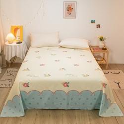 (总)如约 2020新款13070全棉纯棉单床单