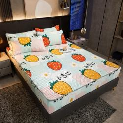 (总)柠檬树 2021网红爆款0.45加厚床笠款乳胶凉席