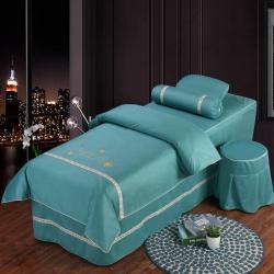(总)千姿坊 2021新款真丝棉美容床罩