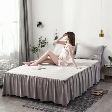 (总)意尚风情 2021新款水洗天丝床裙三件套