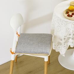 总-永光记忆棉实木餐桌椅子坐垫防滑布艺家用凳子垫子可拆洗
