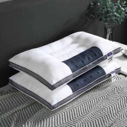 艾丽丝枕芯立体磁疗枕决明子枕荞麦枕芯单边磁疗枕舒适助眠单人枕