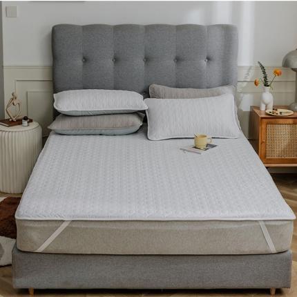 寐眠 2021新款夹棉床垫夹棉床笠 白白白夹棉床垫