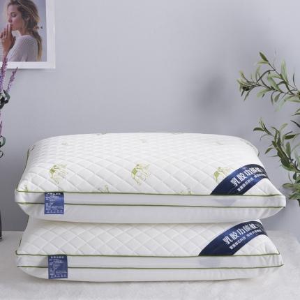艾丽丝枕芯乳胶热熔枕芯可水洗枕头芯舒适助眠大象热熔枕头整张棉
