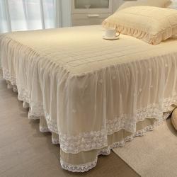 (总)金奇达 2021新款乳胶蕾丝床裙席