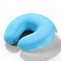 2021新款U型记忆枕芯枕头 天蓝