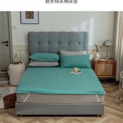 寐眠 2021新款夹棉床垫 碧水绿夹棉床垫
