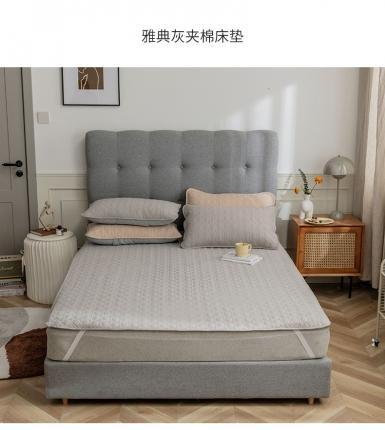 寐眠 2021新款夹棉床垫 雅典灰夹棉床垫
