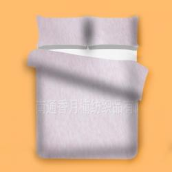 香月楠  色纺彩棉面料  粉色
