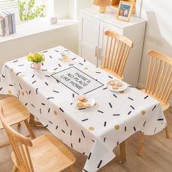 博笔熊 2021新款桌布 几何空间