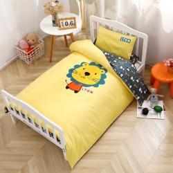 (总)亿彩纺织 13372全棉幼儿园午睡床品套件
