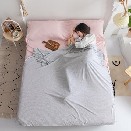 (总)简煦家居 2021新款全棉针织棉睡袋