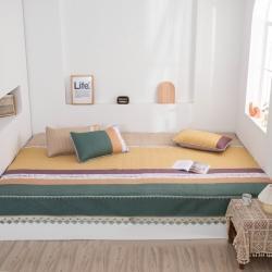 (总)2021榻榻米床盖床罩防滑可机洗大炕罩纯棉炕盖三件套