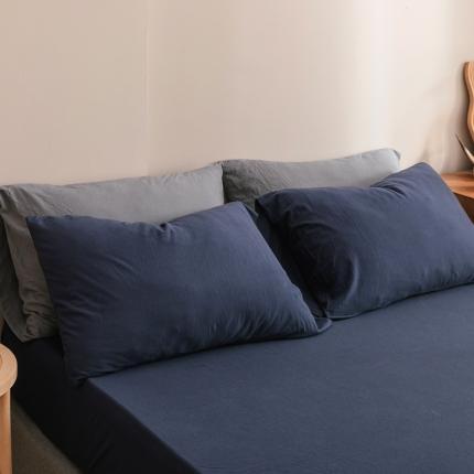 (总)简煦 2021新款针织印染纯色单床单