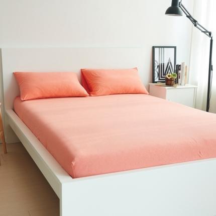 (总)简煦2021新款全棉色纺针织棉条纹纯色套件系列3单床笠
