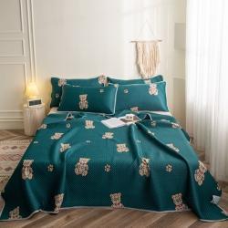 (总)花言狐语 2021新款多功能毯凉感丝夏被床垫床盖空调毯