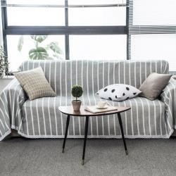 (总)柚米 沙发垫套坐垫子沙发套罩盖布沙发巾仿麻沙发巾