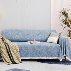 (总)柚米 沙发垫套坐垫子沙发套罩盖布沙发巾雪尼尔川河沙发巾