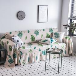 (总)柚米沙发垫套坐垫子沙发套罩盖布印花沙发巾