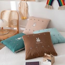 总-迷彤屋海藻泥中高端品质小兔抱枕被水洗棉全棉量大可议价