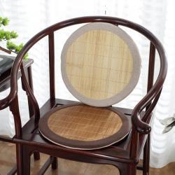(总)大梧纺织 楠竹圈椅垫