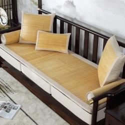 (总)大梧纺织 2021新款夏凉楠竹沙发垫