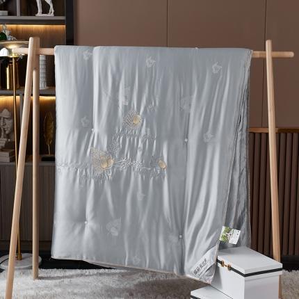 新品蚕丝被夏被 秋冬被芯  天丝绣花工艺 桑蚕丝长丝棉包检测
