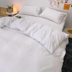 酒店四件套宾馆纯白色套件单品被套 200X230cm可订床笠