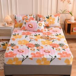 (总)八十八家纺 2021新款磨毛夹棉床笠床罩床单