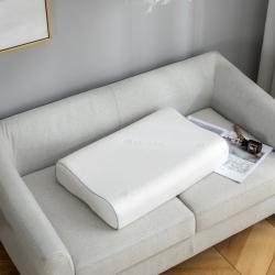 桐格枕芯 泰国天然乳胶枕曲线颗粒狼牙款枕头(仙护盾)送内外套