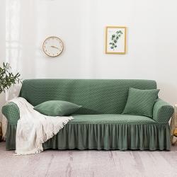 2021土耳其小方格沙发套罩通用型高端大气防滑全包