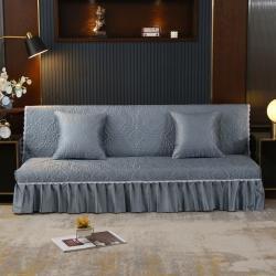 (总)丽朝国际 2021新款冰丝雕花沙发床罩