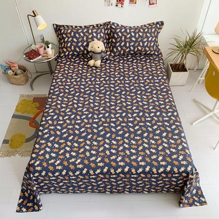 (总)乐童家纺 13070全棉喷气斜纹爆款单床单-实拍图