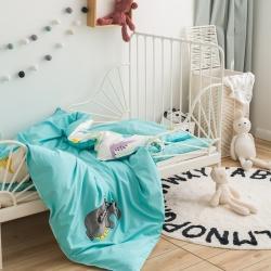 (总)幼儿园纯棉三件套含芯六件套开学入园床品