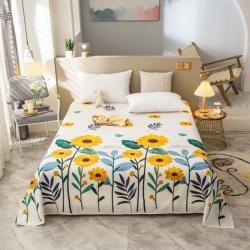 (总)富瑞阁2021新款高密加厚12868全棉单床单新品上架
