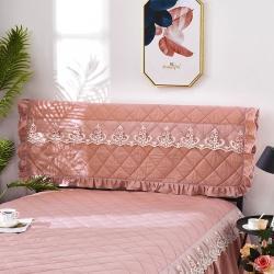 (总)韩霓轩喜嫁 2021新款13372全棉夹棉单床头罩