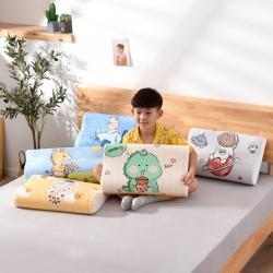 (总)梦想家 水晶绒数码印花乳胶枕套卡通儿童成人乳胶枕套/只