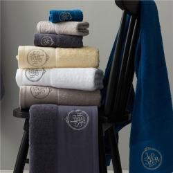 (总)紫树2021年新希尔顿古斯特三件套浴巾毛巾方巾沐浴套件